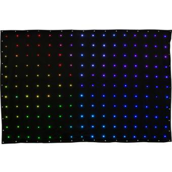 VIRTUALDRAPE - Flexible module 176 SMD RGB/FC LED, flame-retardant, IP20, 30W-150W, 2X3 m, 4 kg