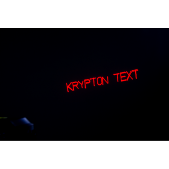 KRYPTONTEXT - Laser projector, blue (100mW) green (50 mW) red (150 mW), IR control, keyboard #5