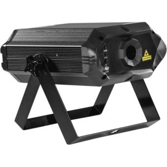 KRYPTONTEXT - Laser projector, blue (100mW) green (50 mW) red (150 mW), IR control, keyboard