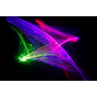 KRYPTON3DFX - Laser projector, blue (300 mW) green (80 mW) red (100mW), 3D effects, ILDA, DMX #2
