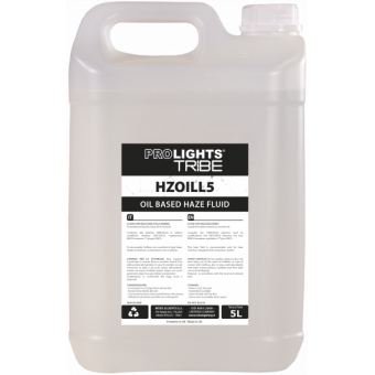 HZOILL5 - Medium-density oil fluid for haze machines, 5L