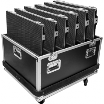 AP6T6CASE - Flightcase for 6 pcs ALPHAPIX6T LED display, 745x982x895 mm