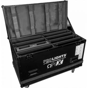 OXFCM8026 - Flightcase for 8 pcs OMEGAX26B-39B series LED-display, 1.200x600x806 mm