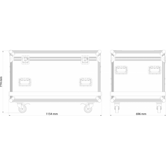 OXFCM8039 - Flightcase for 8 pcs OMEGAX39T LED-display, 1.200x600x806 mm #12