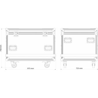 OXFCM8039 - Flightcase for 8 pcs OMEGAX39T LED-display, 1.200x600x806 mm #14