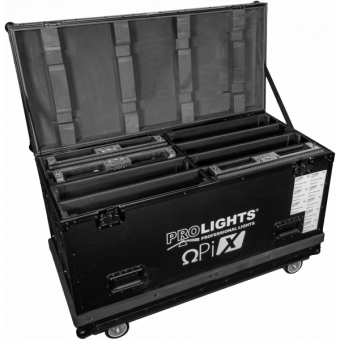 OXFCM80C45 - Flightcase for 8 45° corner modules OMEGAPIX series LED-display #3