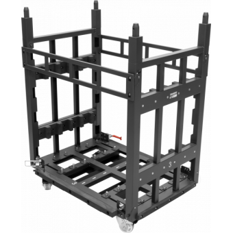 OMEGAXDOLLY - Dolly for transport 24 cabinets OMEGAX39T (6 layers by 4 cabinets) #2