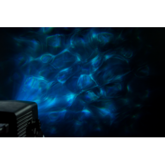 AQUA - LED projector with water waves effect, 36 W white LED, colour wheel #6