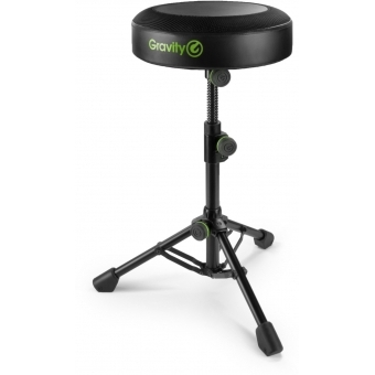 Gravity FD SEAT 1 Round Musicians Stool Foldable, Adjustable Height #2
