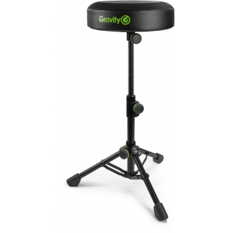 Gravity FD SEAT 1 Round Musicians Stool Foldable, Adjustable Height #3