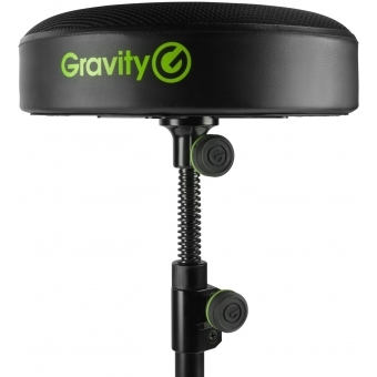 Gravity FD SEAT 1 Round Musicians Stool Foldable, Adjustable Height #4