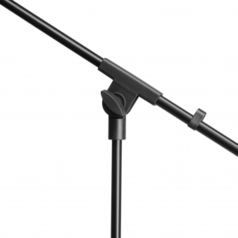 Adam Hall Stands S 5 BE Microphone stand black with boom arm #2