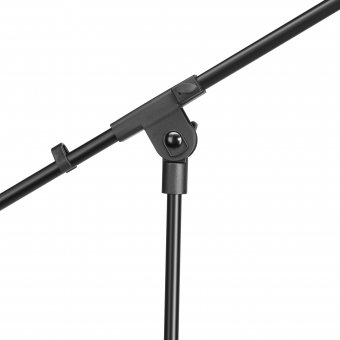 Adam Hall Stands S 5 BE Microphone stand black with boom arm #3