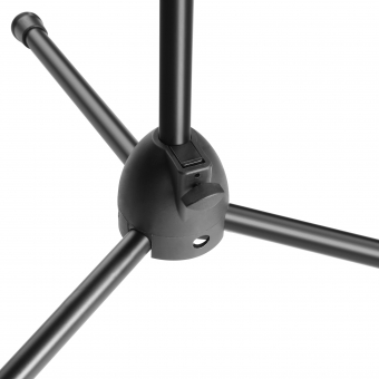 Adam Hall Stands S 5 BE Microphone stand black with boom arm #5
