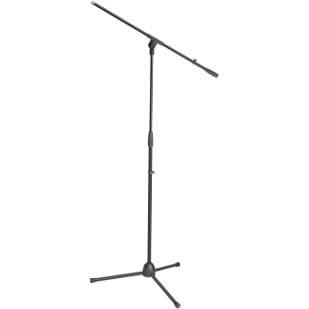 Adam Hall Stands S 5 BE Microphone stand black with boom arm
