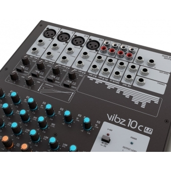 LD Systems VIBZ 10 C 10 Channel Mixing Console with Compressor #4