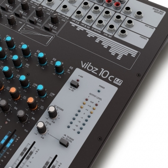 LD Systems VIBZ 10 C 10 Channel Mixing Console with Compressor #5
