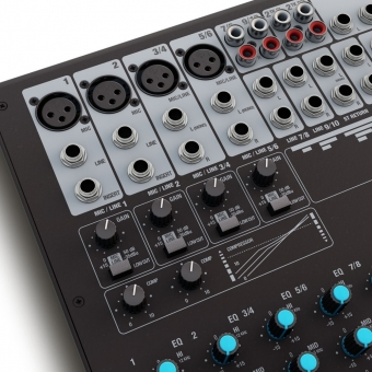 LD Systems VIBZ 10 C 10 Channel Mixing Console with Compressor #6