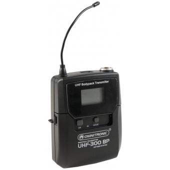 OMNITRONIC UHF-300 Bodypack 823-832/863-865MHz