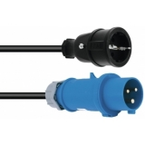 PSSO Adaptercable Safety Plug(F)/CEE 2.5