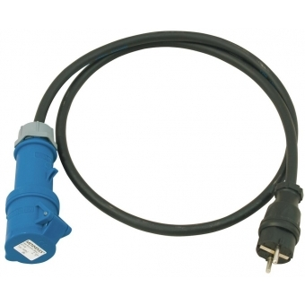 PSSO Adaptercable Safety Plug(M)/CEE 2.5 #2