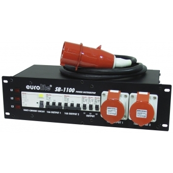 EUROLITE SB-1100 Power Distributor 32A #2