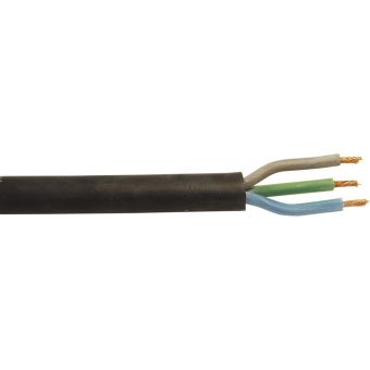 HELUKABEL Power Cable 3x1.5 100m bk Silicone H05SS