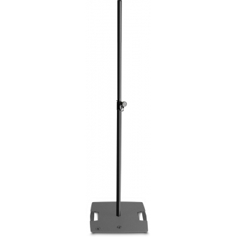 Gravity LS 431 B - Lighting Stand with square steel base and excentric mounting option