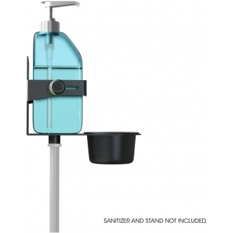 Gravity MA DIS 01 B - Universal Disinfectant Holder Black #4