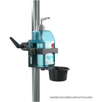 Gravity MA DIS 01 B - Universal Disinfectant Holder Black #7