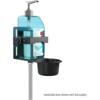 Gravity MA DIS 01 B - Universal Disinfectant Holder Black