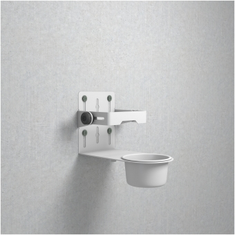 Gravity MA DIS 01 W - Universal Disinfectant Holder White #11