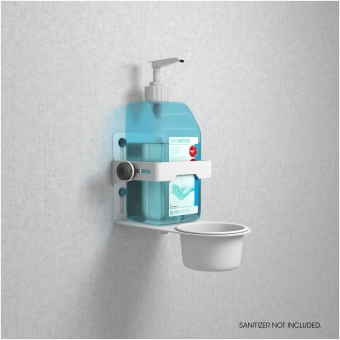 Gravity MA DIS 01 W - Universal Disinfectant Holder White #10