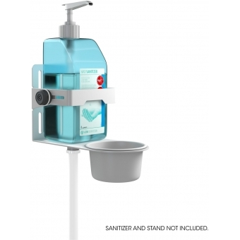 Gravity MA DIS 01 W - Universal Disinfectant Holder White