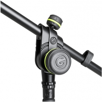 Gravity MS 2222 B - Short Microphone Stand with Round Base and 2-Point Adjustment Telescoping Boom #4