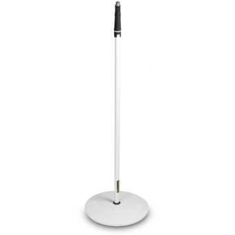 Gravity MS 23 W - Microphone Stand with Round Base, White #2
