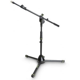 Gravity MS 4222 B - Short Microphone Stand with Folding Tripod Base and 2-Point Adjustment Telescoping Boom #7