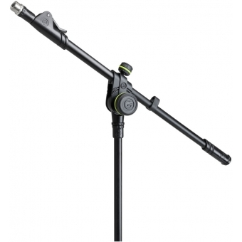 Gravity MS 4222 B - Short Microphone Stand with Folding Tripod Base and 2-Point Adjustment Telescoping Boom #9