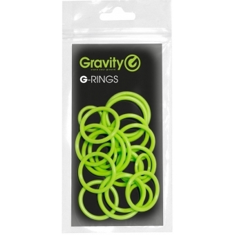 Gravity RP 5555 GRN 1 - Universal Gravity Ring Pack, Sheen Green #2