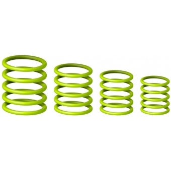 Gravity RP 5555 GRN 1 - Universal Gravity Ring Pack, Sheen Green