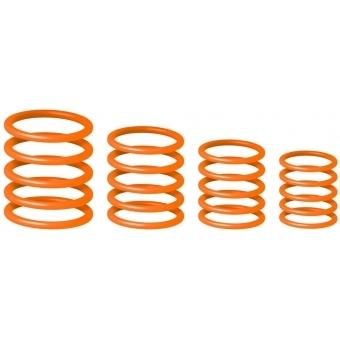 Gravity RP 5555 ORG 1 - Universal Gravity Ring Pack, Electric Orange