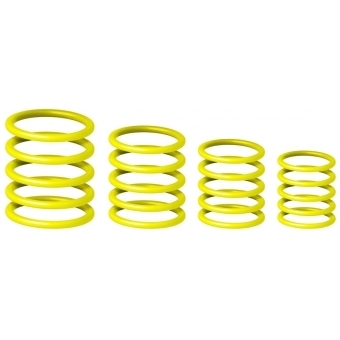 Gravity RP 5555 YEL 1 - Universal Gravity Ring Pack, Sunshine Yellow