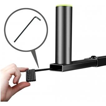 Gravity SAT 36 B - Adjustable T-Bar for Speaker Stands #7