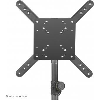 Gravity SA VESA 1 - 35 mm Pole Mount LCD TV Monitor Bracket with 7 VESA Hole Patterns