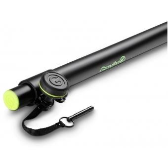 Gravity SP 2342 B - Adjustable Speaker Pole 35 mm to M20, 1800 mm #3