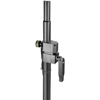 Gravity SP 2472 B - Adjustable Speaker Pole with Crank, 35mm to M20, #4