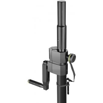 Gravity SP 2472 B - Adjustable Speaker Pole with Crank, 35mm to M20, #5