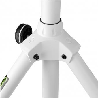 Gravity SP 5211 W - Speaker Stand, 35 mm, Aluminium, White #4