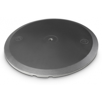 Gravity SSP WB SET 1 - Loudspeaker Stand with Base and Cast Iron Weight Plate #3