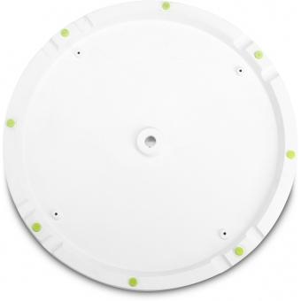 Gravity WB 123 W - Round Cast Iron Base for M20 Poles, White #3
